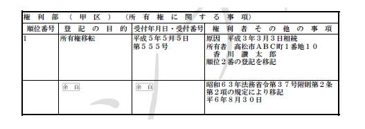 昭和 63 年 法務省 令 第 37 号 附則 第 2 条 第 2 項
